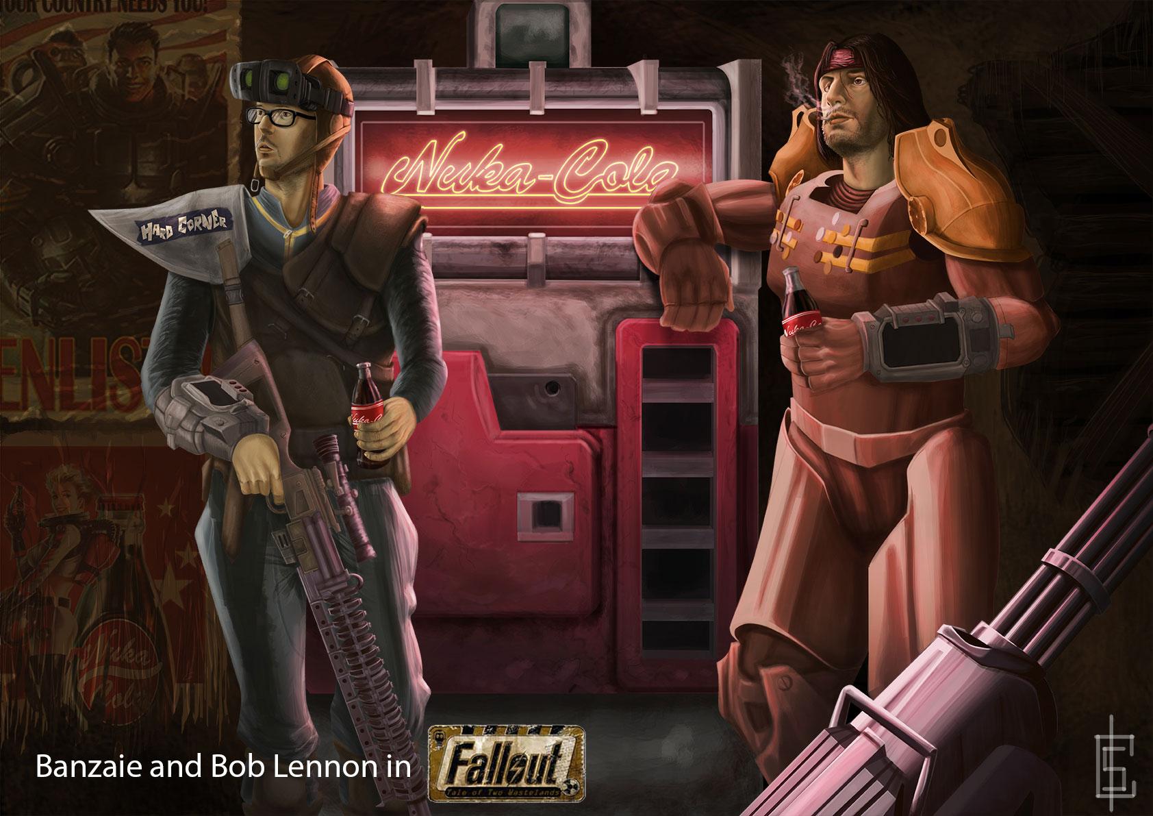 Banzaie-et-Bob-lennone-dans-Fallout