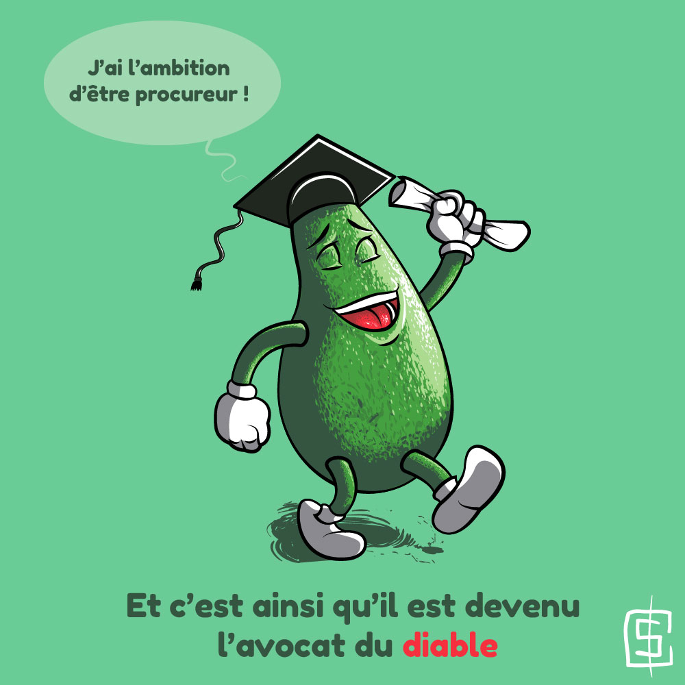 Dessin humoristique, Fruits