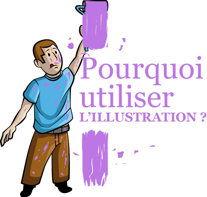 Illustration pourquoi utiliser l'illustration mobile